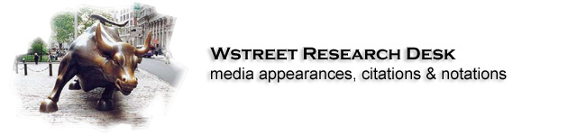 The WStreet Blog