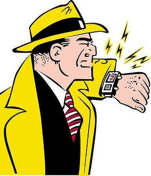 Image result for dick tracy wrist radio
