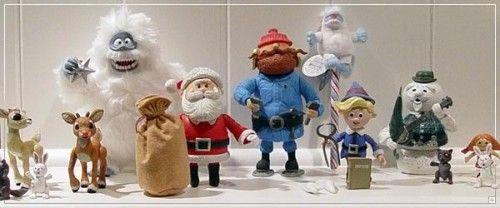 rudolph santa misfit toys white background