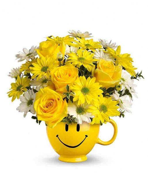 Image result for kid smiling flower