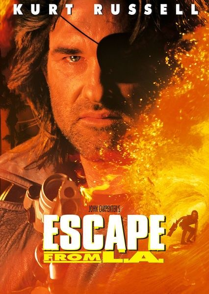 Is 'Escape from L.A.' (1996) available to watch on UK Netflix ...